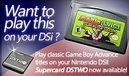 Play GBA games on DSi